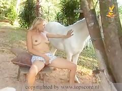 Zorra con caballo