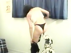 horny lady wanna fuck the dog